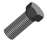 外六角螺栓